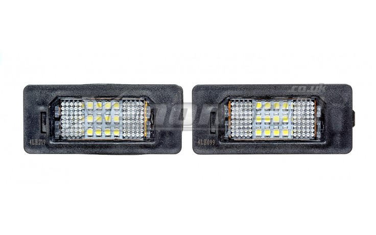 BMW F07 GT E82 E88 F22 LED Number Plate Lights