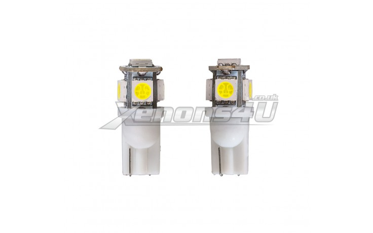 W5W T10 501 5 5050 SMD LED Bulbs
