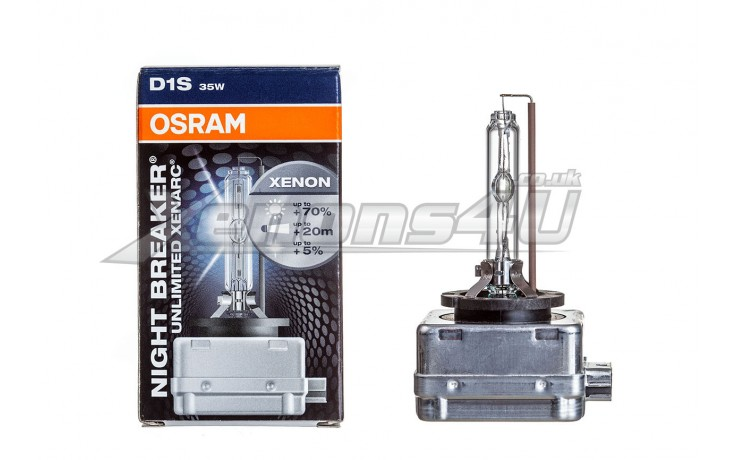 Osram D1S Night Breaker Unlimited Xenarc Xenon HID Bulb