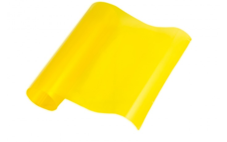 Yellow Headlight Tinting Film 100cm x 30cm