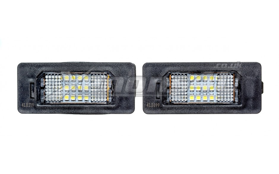 BMW E71 F16 X6 E70 F15 X5 E84 X1 F25 X3 LED Number Plate Lights
