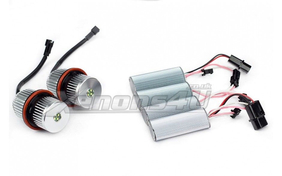 Bmw Led Upgrade Bulbs Kit Angel Eyes 25w Cree Led