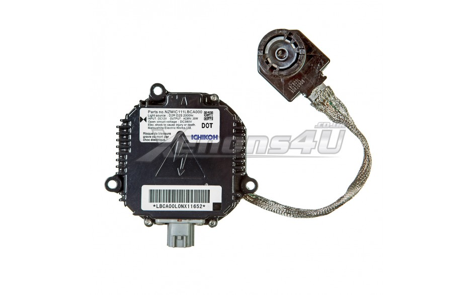 2009 nissan murano headlight ballast replacement