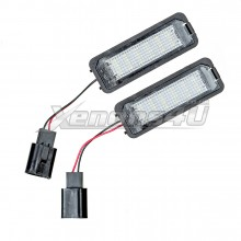VW Golf MK4 MK5 MK6 MK7 LED Number Plate Lights