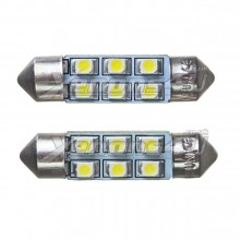 36mm 6 SMD LED Festoon Bulbs