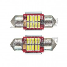 31mm 4014 SMD 10 LED Festoon Canbus Bulbs