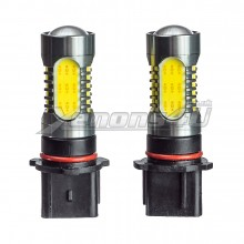 P13W 45W COB LED DRL Sidelight Foglight Bulbs