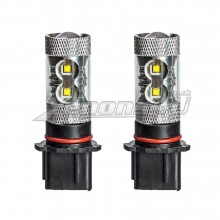 P13W 50W CREE LED DRL Sidelight Foglight Bulbs