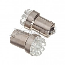 BAU15S PY21W 581 9 LED Amber Light Bulbs