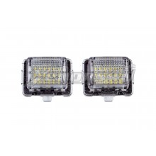 Mercedes Benz W205 S205 Pre-Facelift LED Number Plate Lights
