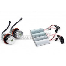 BMW Angel Eyes 25W CREE LED upgrade bulbs kit