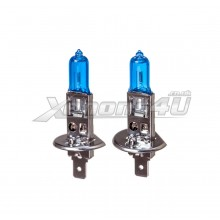 H1 55W Xenon Effect Super White Headlight Bulbs