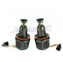 BMW H8 80W CREE LED Angel Eyes Upgrade Marker Bulbs
