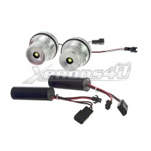 BMW Angel Eyes 28W CREE LED upgrade bulbs kit