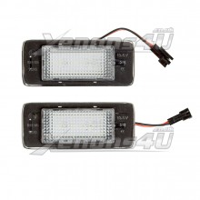 Vauxhall Zafira Tourer MK3 C P12 13590043 645290727 LED Number Plate Lights