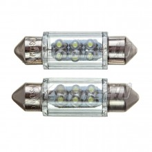 36mm 6 LED Festoon Bulbs