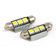 36mm 3 5050 SMD LED Festoon Canbus Bulbs