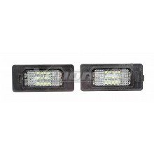 Audi A1 8X A4 S4 B8 8K Q5 8R Pre-Facelift LED Number Plate Lights