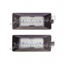 Audi TT MK2 8J Facelift 4G0943021 4G0943021A LED Number Plate Lights