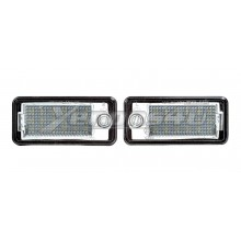 Audi A3 8P S3 8PA A4 B6 B7 A6 C6 4F Q7 4L LED Number Plate Lights