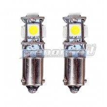 BAX9S H6W 5 5050 SMD Canbus LED Bulbs