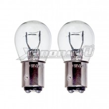 BAZ15D 566 P21/4W Clear Glass Light Bulbs