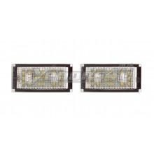 BMW 7 Series E66 LED Number Plate Lights