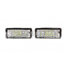 BMW E39 Touring Estate LED Number Plate Lights
