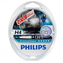 Philips H4 X-treme Vision Headlight Bulbs