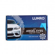 LUMRO BMW E60 E61 Facelift LCI H10W Angel Eyes 20W CREE LED Upgrade Bulbs