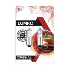LUMRO Original BAX9S H6W 434 Parking Side Light Bulbs