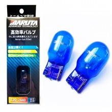 Maruta MTEC W21W 582 7440 Super White Xenon Effect Sidelight DRL Bulbs