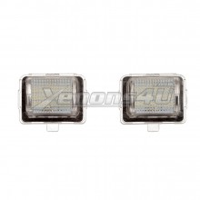 Mercedes Benz W204 S204 Facelift A2218200856 LED Number Plate Lights