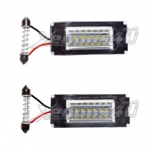 Mini Cooper R56 LED Number Plate Lights