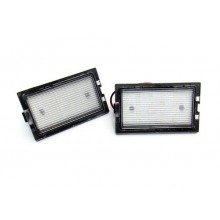Land Rover Discovery LR3 3 LR4 4 Freelander LR2 2 LED Number Plate Lights