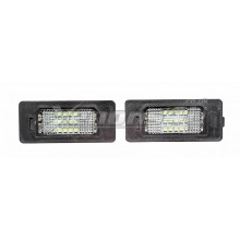 Skoda Fabia 5J Yeti 5L Pre-Facelift 8T0943021 LED Number Plate Lights