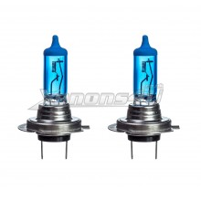 H7 55W Super White Xenon Effect Headlight Bulbs