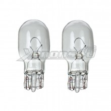 W16W T15 921 Clear Glass Light Bulbs